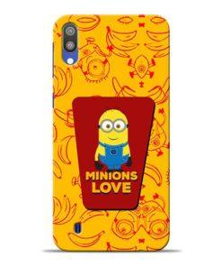 Minions Love Samsung M10 Mobile Cover