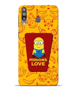 Minions Love Samsung M30 Mobile Cover