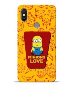 Minions Love Xiaomi Redmi Y2 Mobile Cover