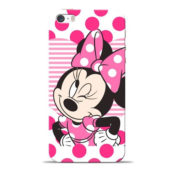 best website d3818 5c500 Minnie Mouse Apple iPhone 5s Mobile Cover