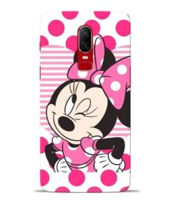 Minnie Mouse Oneplus 6 Mobile Cover