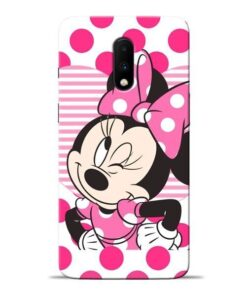 Minnie Mouse Oneplus 7 Mobile Cover