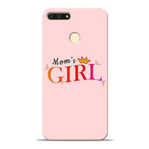 Mom Girl Honor 7A Mobile Cover