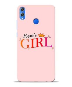 Mom Girl Honor 8X Mobile Cover