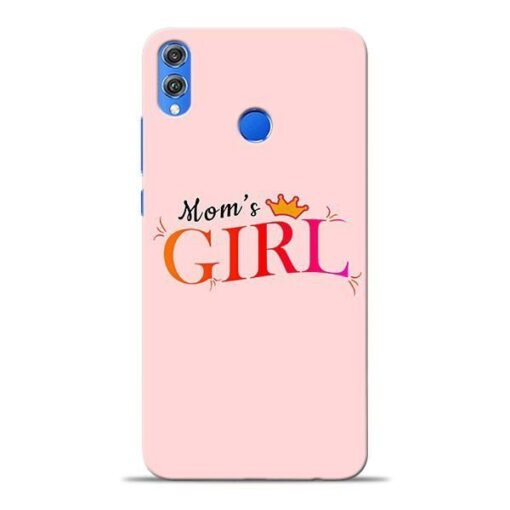 Mom Girl Honor 8X Mobile Cover