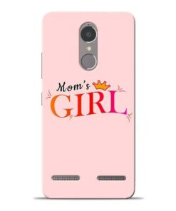 Mom Girl Lenovo K6 Power Mobile Cover