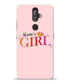 Mom Girl Lenovo K8 Plus Mobile Cover
