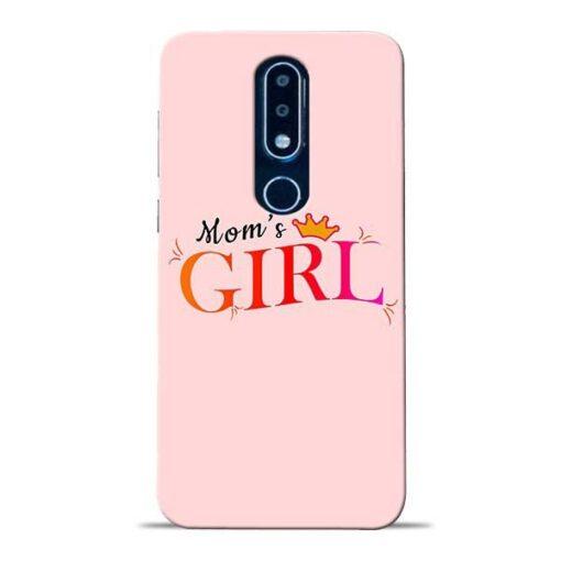 Mom Girl Nokia 6.1 Plus Mobile Cover