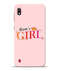 Mom Girl Samsung A10 Mobile Cover