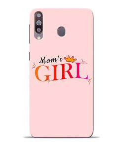 Mom Girl Samsung M30 Mobile Cover