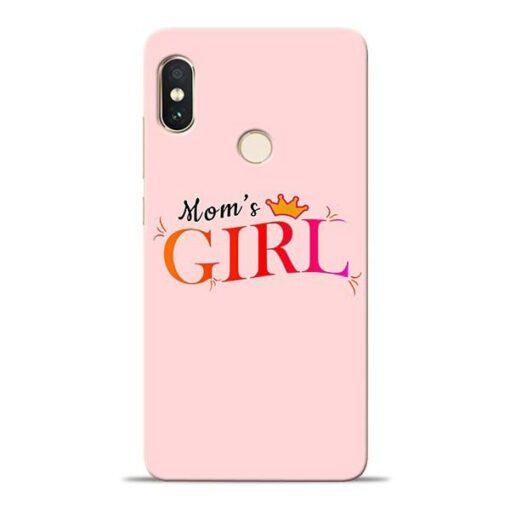 Mom Girl Xiaomi Redmi Note 5 Pro Mobile Cover