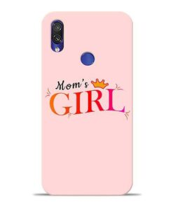 Mom Girl Xiaomi Redmi Note 7 Mobile Cover