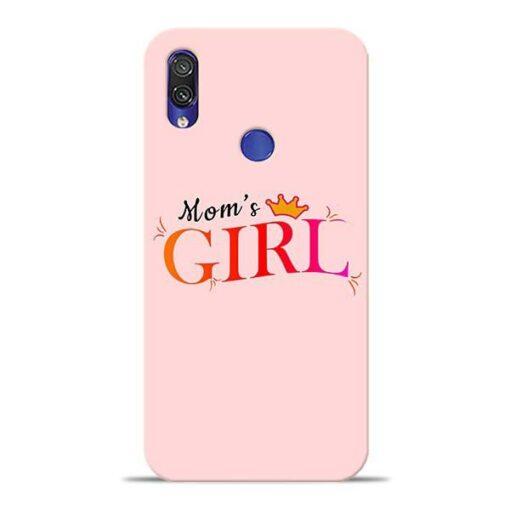 Mom Girl Xiaomi Redmi Note 7 Mobile Cover