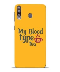 My Blood Tea Samsung M30 Mobile Cover