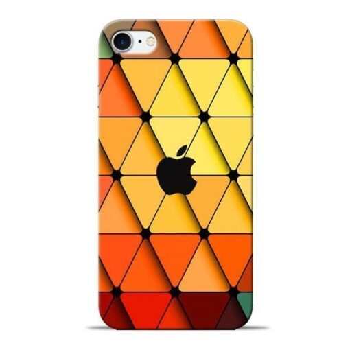 Neon Apple Apple iPhone 8 Mobile Cover