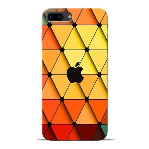 Neon Apple Apple iPhone 8 Plus Mobile Cover