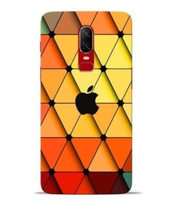 Neon Apple Oneplus 6 Mobile Cover