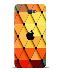 Neon Apple Samsung J7 Prime Mobile Cover