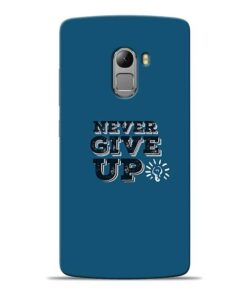 Never Give Up Lenovo K4 Note Mobile Cover