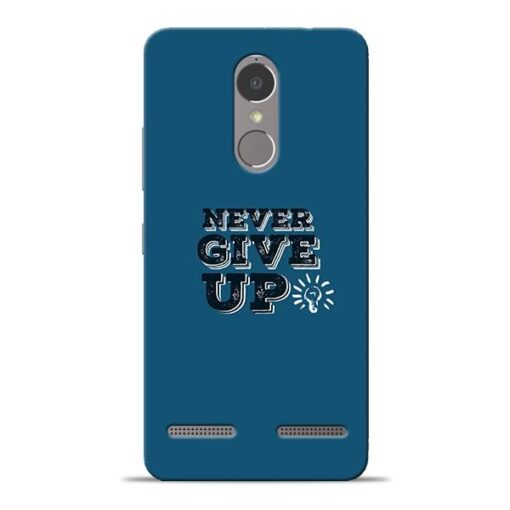 Never Give Up Lenovo K6 Power Mobile Cover