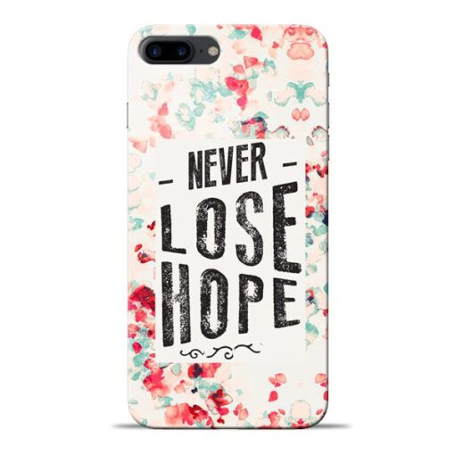 Never Lose Apple iPhone 8 Plus Mobile Cover