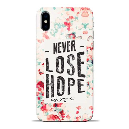 Never Lose Apple iPhone X Mobile Cover