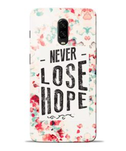 Never Lose Oneplus 6T Mobile Cover