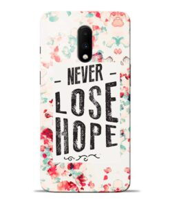 Never Lose Oneplus 7 Mobile Cover