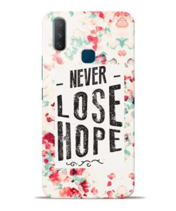 Never Lose Vivo Y17 Mobile Cover