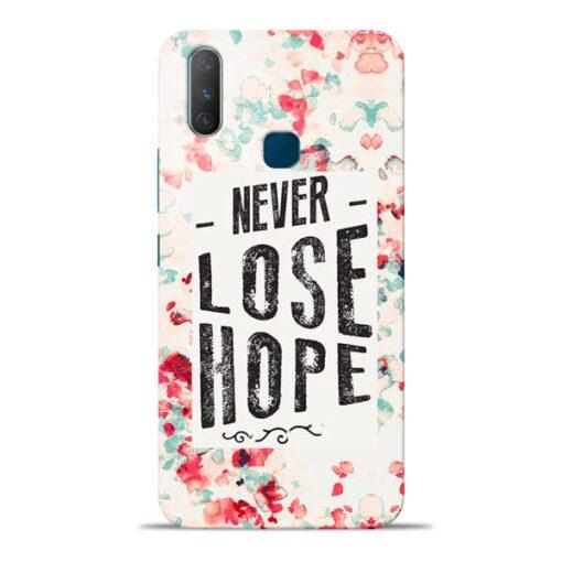 Never Lose Vivo Y17 Mobile Cover