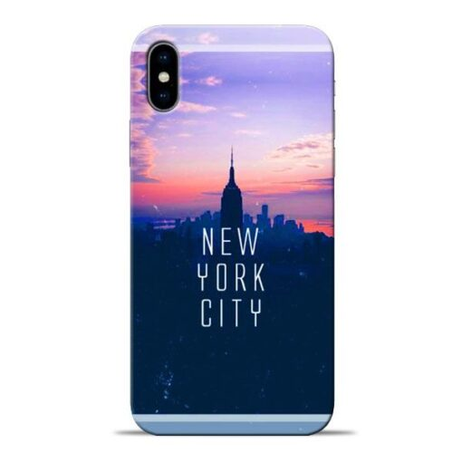 New York City Apple iPhone X Mobile Cover