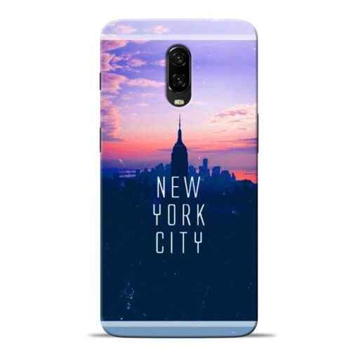 New York City Oneplus 6T Mobile Cover