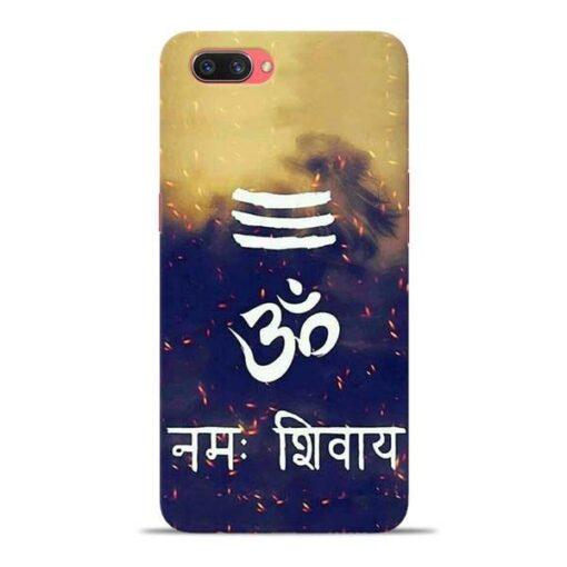 Om Namah Shivaya Oppo A3s Mobile Cover