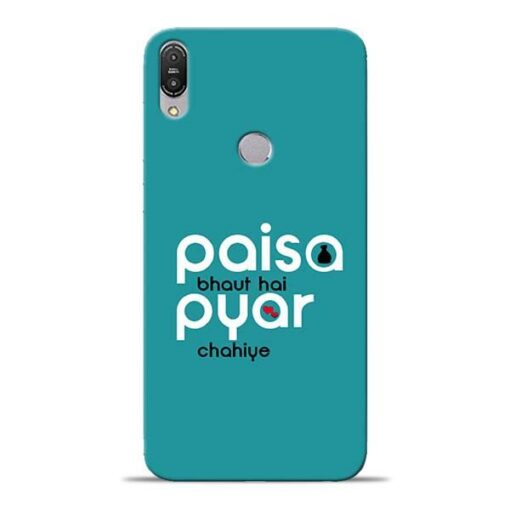 Paisa Bahut Asus Zenfone Max Pro M1 Mobile Cover
