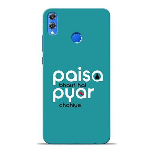 Paisa Bahut Honor 8X Mobile Cover