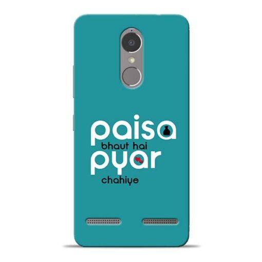 Paisa Bahut Lenovo K6 Power Mobile Cover