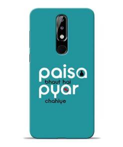 Paisa Bahut Nokia 5.1 Plus Mobile Cover