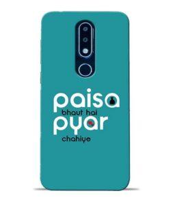 Paisa Bahut Nokia 6.1 Plus Mobile Cover