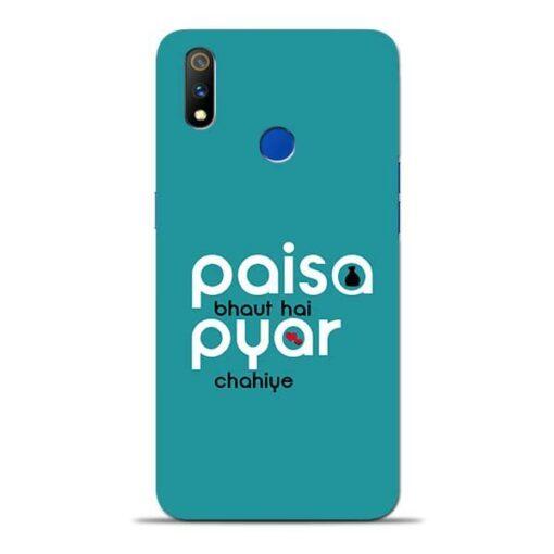 Paisa Bahut Oppo Realme 3 Pro Mobile Cover