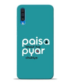 Paisa Bahut Samsung A50 Mobile Cover