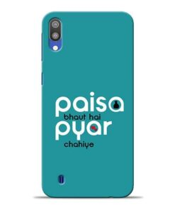 Paisa Bahut Samsung M10 Mobile Cover