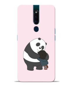 Panda Close Hug Oppo F11 Pro Mobile Cover