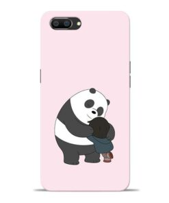Panda Close Hug Oppo Realme C1 Mobile Cover