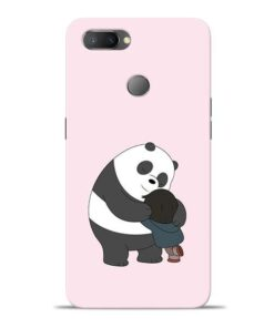 Panda Close Hug Oppo Realme U1 Mobile Cover