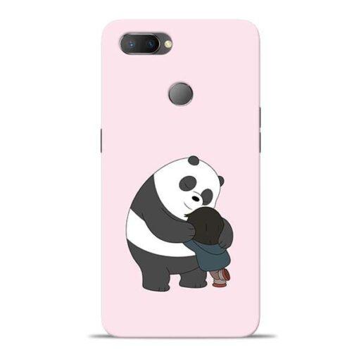 Panda Close Hug Oppo Realme U1 Mobile Cover