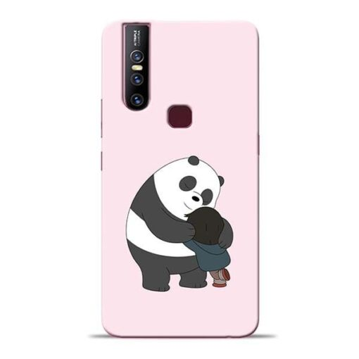Panda Close Hug Vivo V15 Mobile Cover