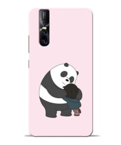 Panda Close Hug Vivo V15 Pro Mobile Cover