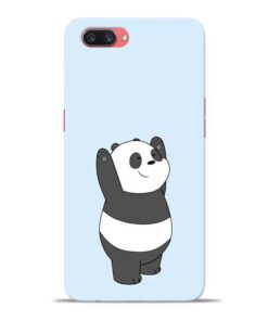 Panda Hands Up Oppo A3s Mobile Cover