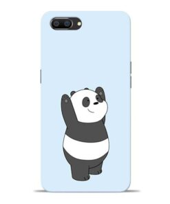 Panda Hands Up Oppo Realme C1 Mobile Cover