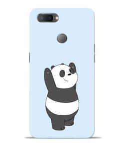 Panda Hands Up Oppo Realme U1 Mobile Cover